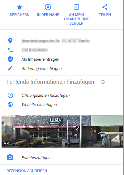 Local SEO Inhaberschaft