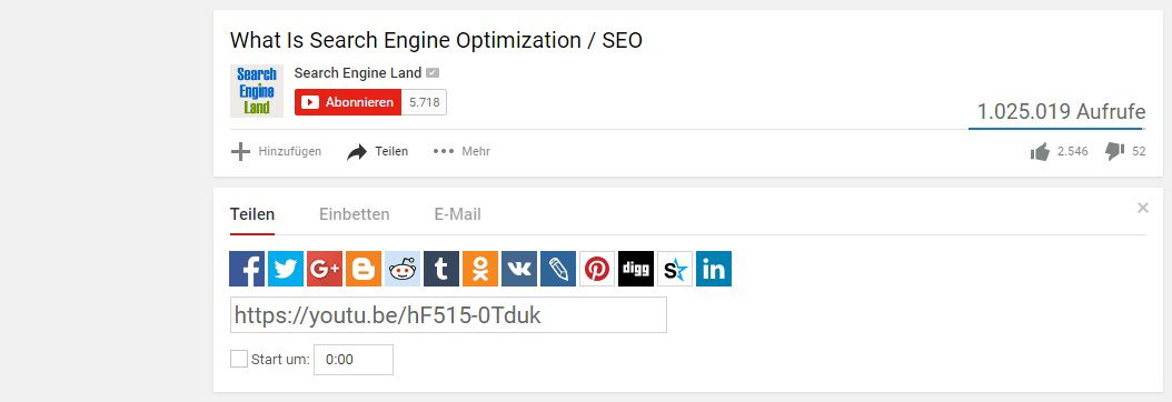 YouTube SEO - Interaktion