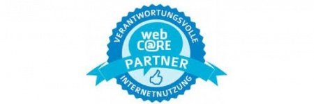 "Siegel der Kampagne ""Support webC@RE"""