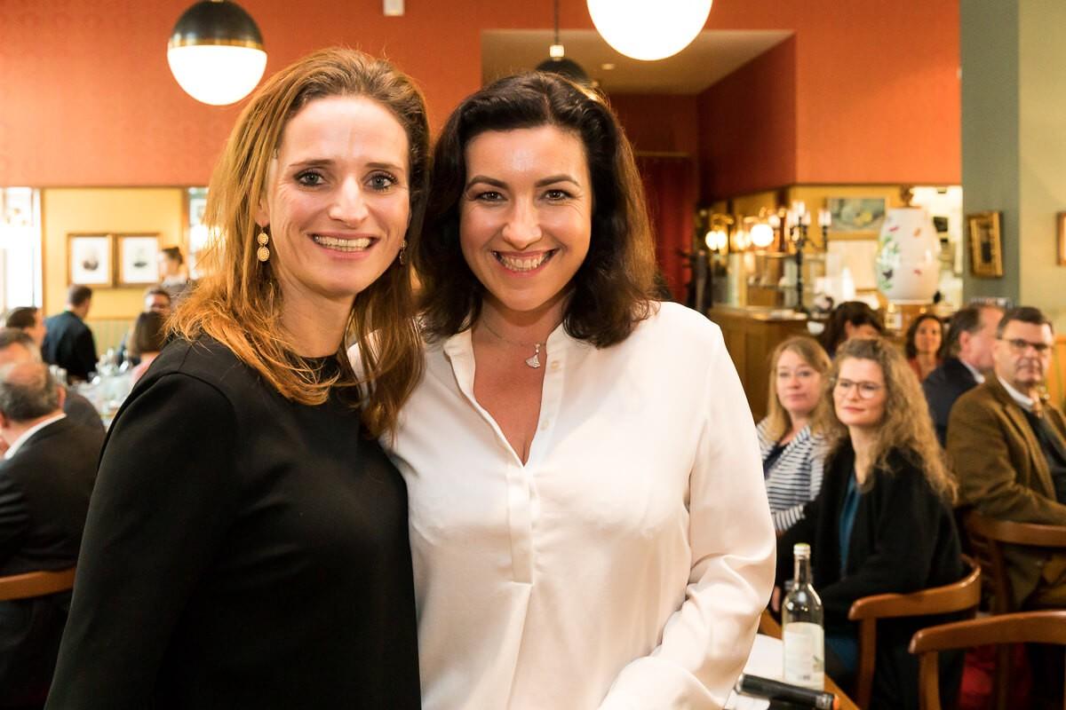 Verena Pausder und Dorothee Bär luden zum Businesslunch der VBKI